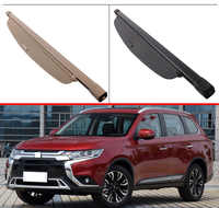 For Mitsubishi Outlander 2016-2019 Aluminum+Canvas Rear Cargo Cover privacy Trunk Screen Security Shield shade Accessories