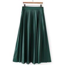 2019 New Yfashion Women Elegant Charming Fashion All-match High Waist A-line Pleated Casual Skirt