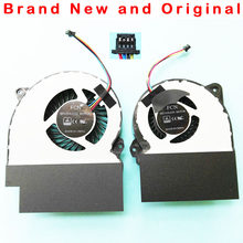 NEW ORIGINAL CPU GPU COOLING FAN FOR ASUS ROG GL702 GL702ZC ROG Strix S7ZC FAN COOLER 12V 1.0A 0.7A(China)