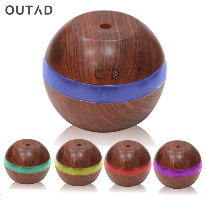 300ML USB Aroma Essential Oil Diffuser Air Purifier Touch Switch Humidifier LED Light Ultrasonic Humidifier Mist Maker Fogger 300ml ultrasonic humidifier aroma diffuser usb air humidifier essential oil diffuser mist maker fogger led night light for home