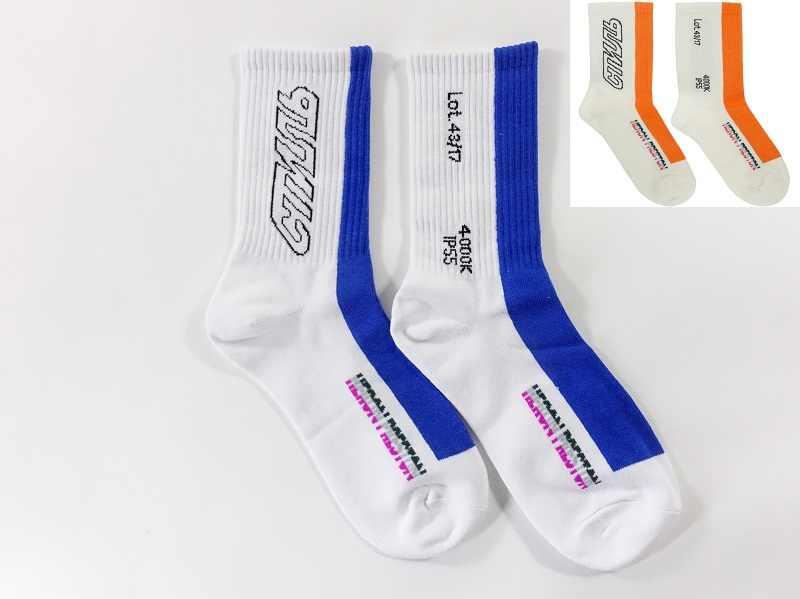 19SS лучшая версия Heron Preston носки хлопок хип-хоп Уличная Heron Preston носки harajuku мужские носки с травой