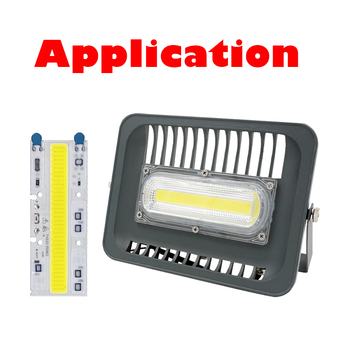 High power led chip 220V 30W 50W 70W 100W 150W LED Floodlight COB Chip Integrated Smart IC Driver Warm White cool white ac110 220v high power led cob chip diode lamp 20w 30w 50w cool white warm white led matrix for diy outdoor floodlight spot light