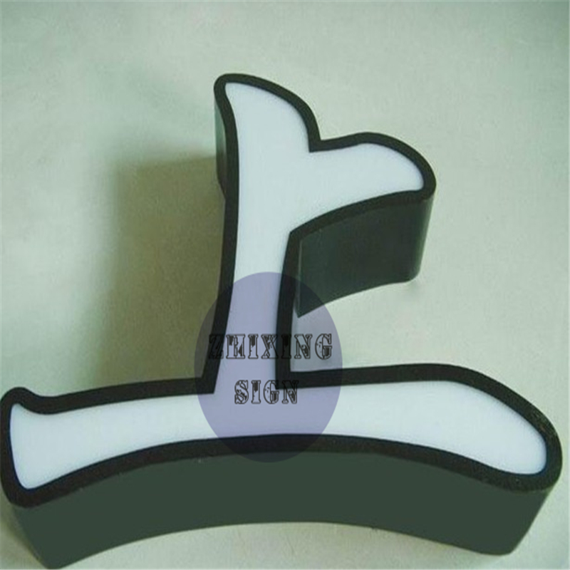 Manufacturer Of Wholesale Indoor & Outdoor Acrylic Face Galvanized Sheet Return  Led Letters Light Sign