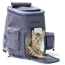 Pet Dog Carriers Backpack Bags Cat Outdoor Travel Carrier Packbag Foldable Shoulder Bag Out Portable pet cat bag Breath