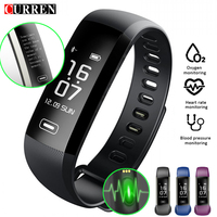 CURREN M2 R5 Pro Smart WristBand Fitness Tracker Bracelet Heart Rate Blood Pressure Watch Pulse Meter SMS Oxygen Call Sport band