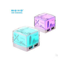ICE COOREL USB Splitter Excessive Pace Extension Cable four Ports HUB 2.zero Splitter Hub Converter
