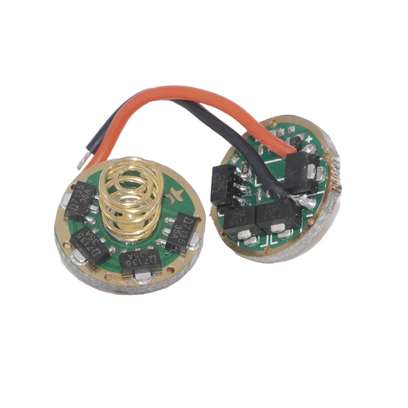 US $5 95 |7135x 12 LED Driver Board 5 Mode 4200mA 17mm Flashlight Circuit  Board DIY Flashlight parts For XM L T6 U2 U3/ XP L V5 V3 V2-in Portable