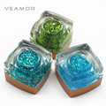 3PCS/LOT UV Nail Gel Polish UV Builder Nail Art Long Lasting Large Sequins Glitter UV Nail Gel