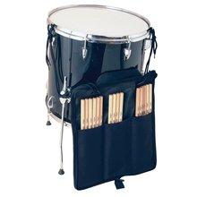 On Stage DSB6700 Drum Stick Bag, Black, Hold 10 Pairs of Drumsticks
