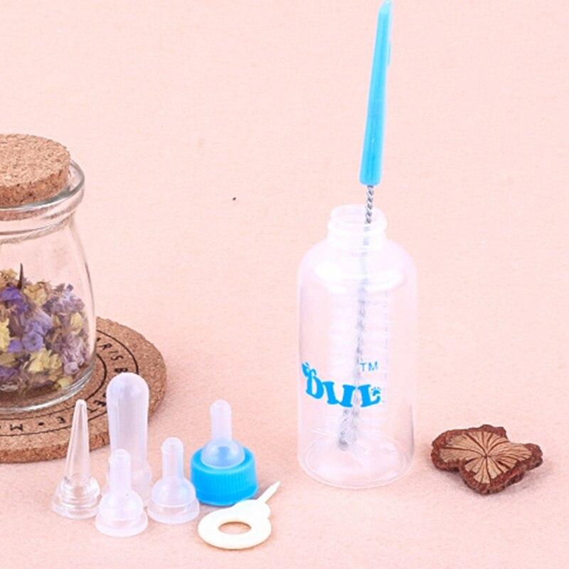 Puppy Kitten Feeding Water Bottle 150ml 60ml font b Pets b font Nursing Feeding Bottle with