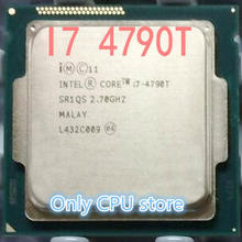 Intel CPU i7 4790T/ 2.7GHz/ LGA 1150 /Quad-Core can work 100% free shipping