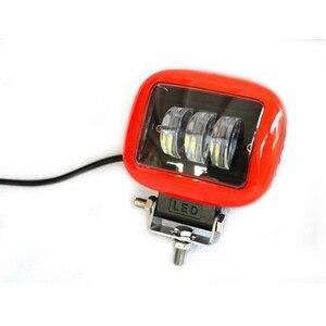 Image 4 - 6D עדשת 5 אינץ Led עבודת אור ניבה 4x4 Offroad בר לרכב מכביש 4WD משאיות טרקטורונים suv 12V 24V קרוואן עמיד למים נהיגה אורות