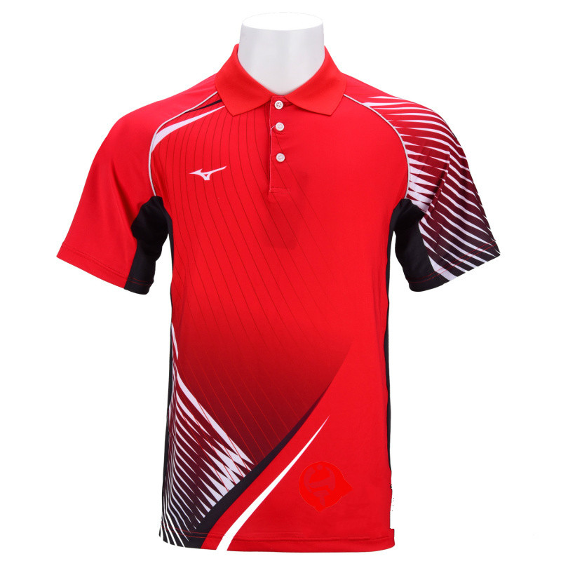 b65adc39 Mizuno Table Tennis Shirts Badminton Shirts For Men Tennis Jersey Quick Dry  Clothes Breathable Short Sleeve T Shirt 82CT8011-in Table Tennis Jerseys  from ...
