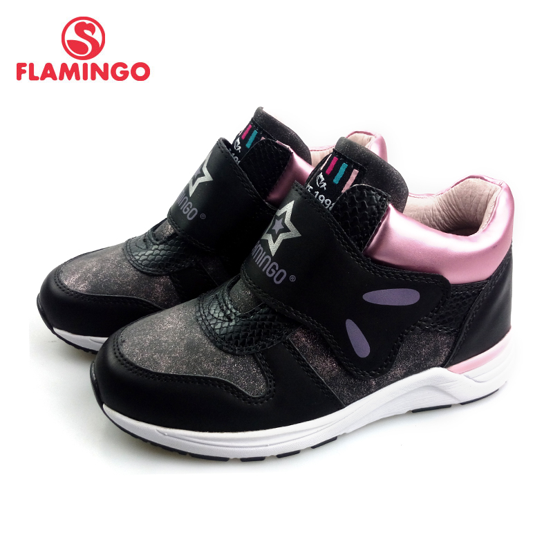 FLAMINGO Autumn&Winter Fashion Sports Shoes High Qality Hook& Loop Anti-slip kids Shoes for Girl Free Shipping 82B-GB-0901FLAMINGO Autumn&Winter Fashion Sports Shoes High Qality Hook& Loop Anti-slip kids Shoes for Girl Free Shipping 82B-GB-0901