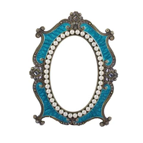Venda quente espelho europeu do vintage a princesa espelho de maquiagem mesa mesa espelho quarto