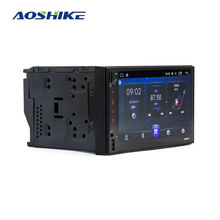 Aoshike 2 Din Android 6.0 Car Multimedia Player Gps 7 Hd Auto MP5 Speler Bluetooth Wifi Quad Core Fm MP4 Auto Radio