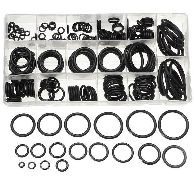 Rubber O Rings 220pcs Tap Gasket Seal Plumbing Washer Set Metric ...