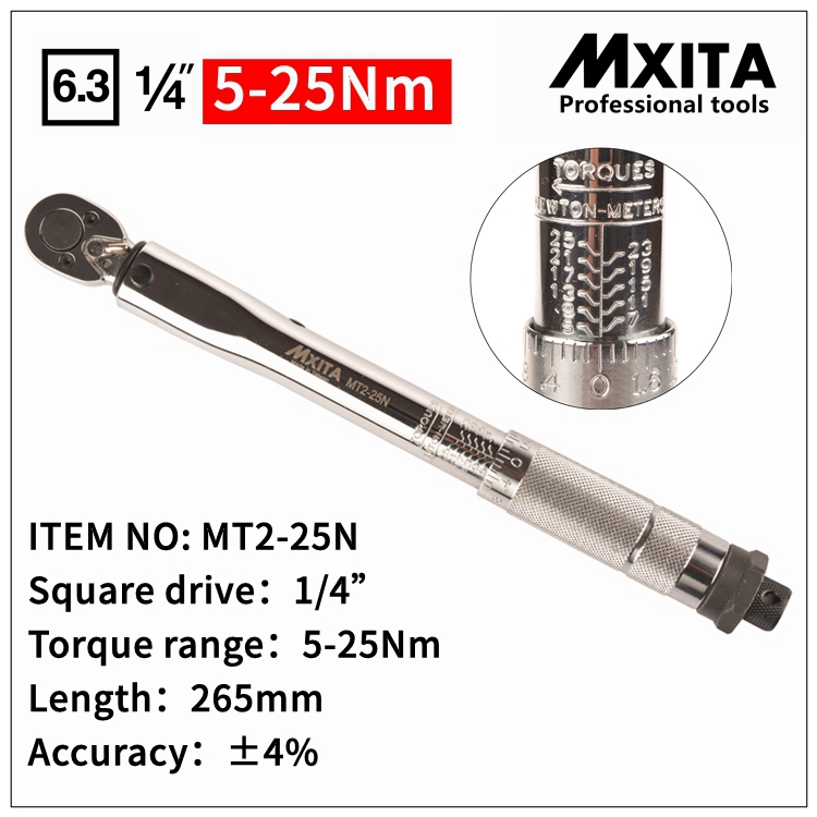купить MXITA Adjustable Torque Wrench Hand Spanner Wrench Tool car Bicycle repair tools по цене 1631.94 рублей