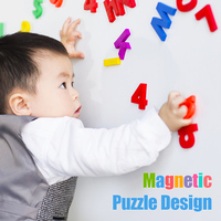 Puzzle Alphabet Letter Baby Toys Educational Kid Learning Toys Magnetic 80PCS Maths Number Fridge Best Gift