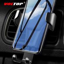 Leather Phone Holder MountAir Outlet Universal Mobile Navigation Support Stand Auto Supplies Car Accessories