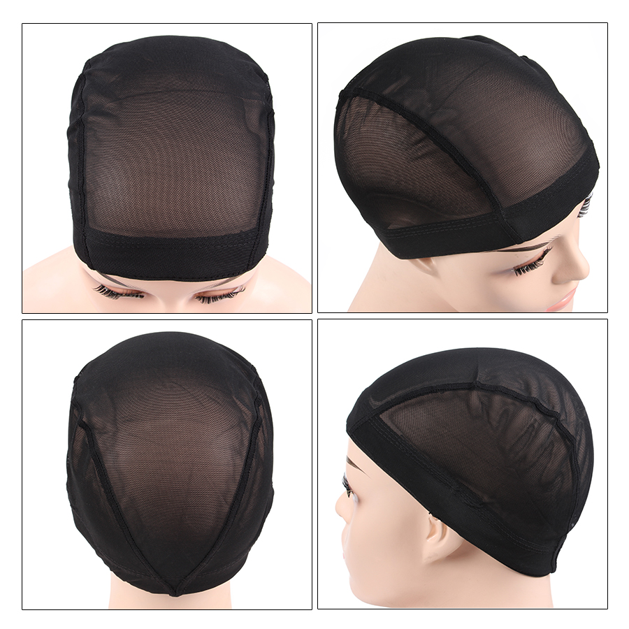 Bright 2018 Newest 1-50 pcs Lace Wig Caps For Making Wigs Hot Black Dome Cap For Wig Hair Net Hair Weaving Stretch Adjustable Wig Cap