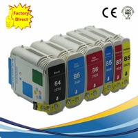 Ink Cartridges Replacement For HP85 84XL C5016A Designjet 30 70 130 130gp 130nr 30 30gp 30n 90 90gp 90r Inkjet