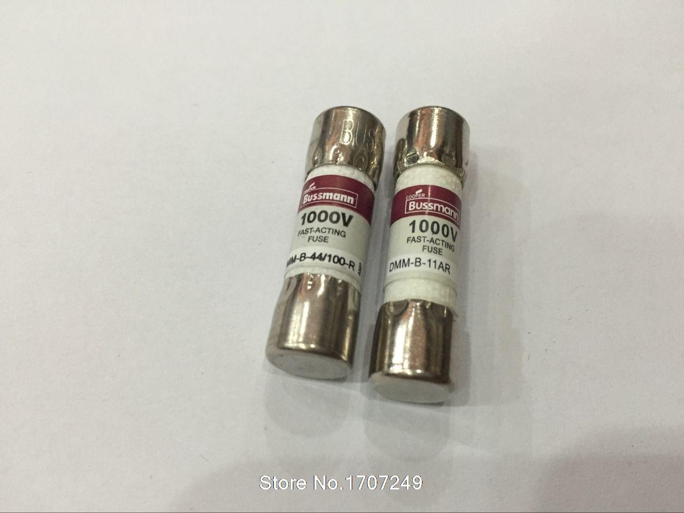 Bussmann Dmm-b-11a Dmm-b-44//100 44ma 1000vac//dc Buss Fuse for Fluke Multimeter