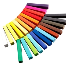 Набор 24 цветов краска для волос временный Мел для волос