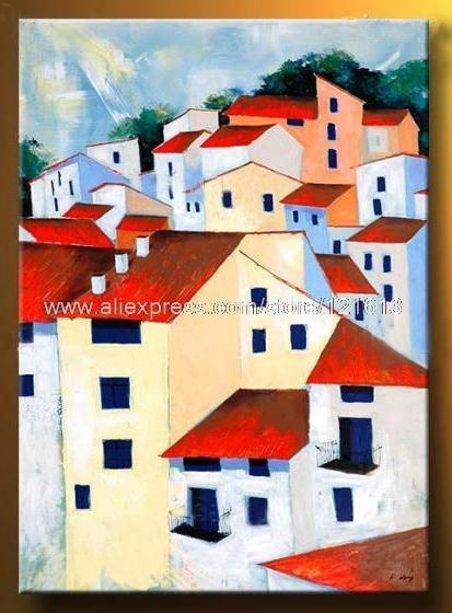 Peinture contemporaine moderne for Peinture moderne maison