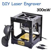 New 300mW USB DIY CNC Laser Engraver Engraving Machine Laser Printer Engraving Wood Router