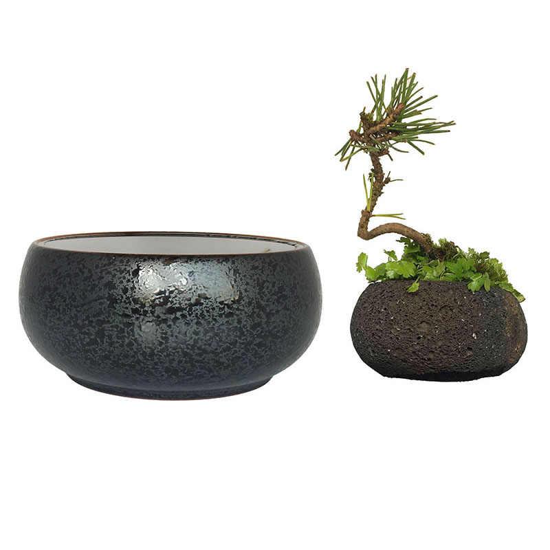 Levitating Air Bonsai Pot Diy Parts Ceramics Glaze Plant Pots Set