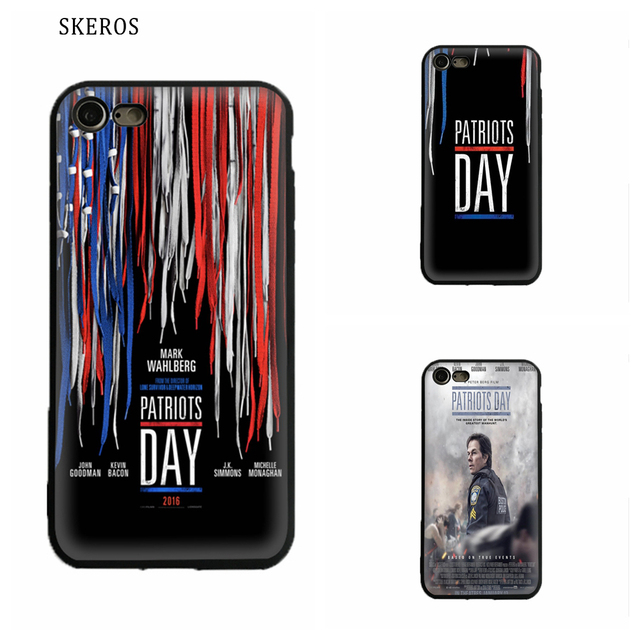 info for 76c87 b0bfd US $3.99 |SKEROS Patriots Day Silicone TPU Phone Soft Cover For IPhone X 5  5S Se 6 6S 7 8 6 Plus 6S Plus 7 Plus 8 Plus #ua287-in Fitted Cases from ...