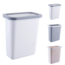Creative Kitchen Back-hanging Waste Bin Trash Can Recycling Wastebasket for Home Cabinet Office Removable