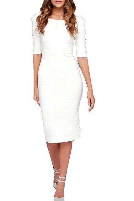 Abetteric 2017 neue verkauf damen elegante kleider sexy tunika ...
