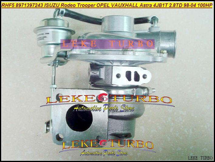 Free Ship Turbo RHF5 VIBR 8971397243 VF420014 8971397242 8971397241 For ISUZU Rodeo Trooper For OPEL VAUXHALL Astra 4JB1T 2.8L