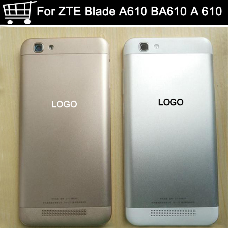 high quality With LOGO Battery Back Cover For ZTE Blade A610 BA610 A 610 battery back Housing Door Case Replacement Parts