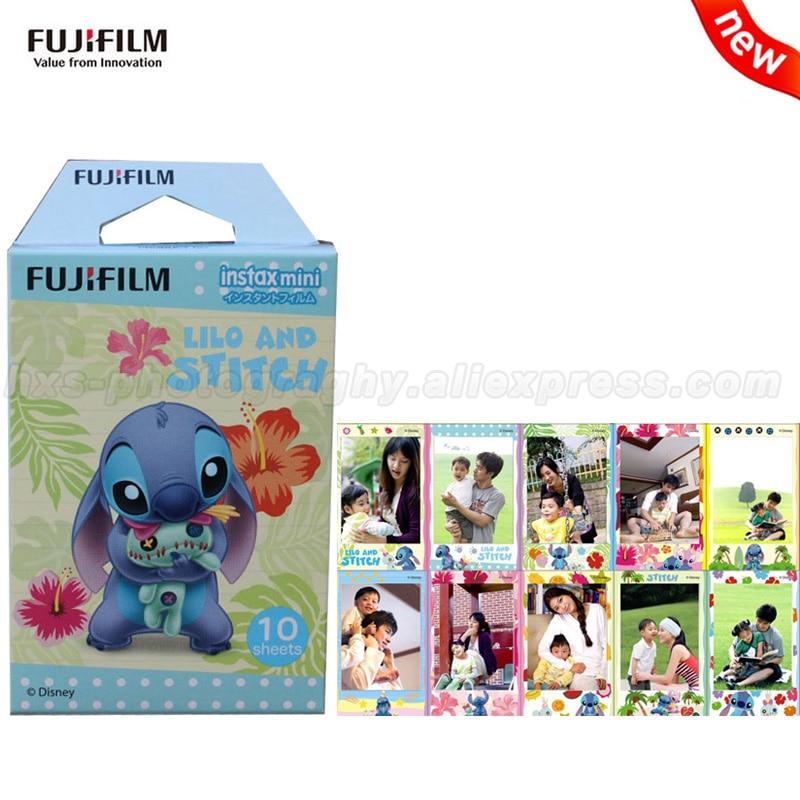 Galleria fotografica New Fujifilm Fuji Instax Mini 9 Film Stitch 10 Sheets For Mini 8 9 7s 7 50s i 90 25 Share SP-1 SP-2 SP-3 Instant Photo Camera