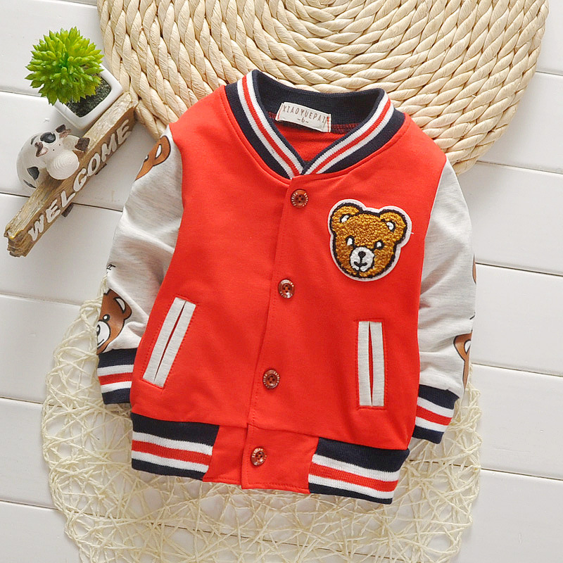 Children Girls Clothes Kids Baseball Sweatershirt Toddler Fashion Brand Jacket 2018 Spring Autumn Baby Outwear For Boys Coat 2 14t baby boy clothes boys jacket leather spring letter boys outwear for children kids coats for boys baseball sweatershirt