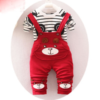 2016 Korean Version Spring And Autumn Children S Two Piece Sets Of Male And Female Children