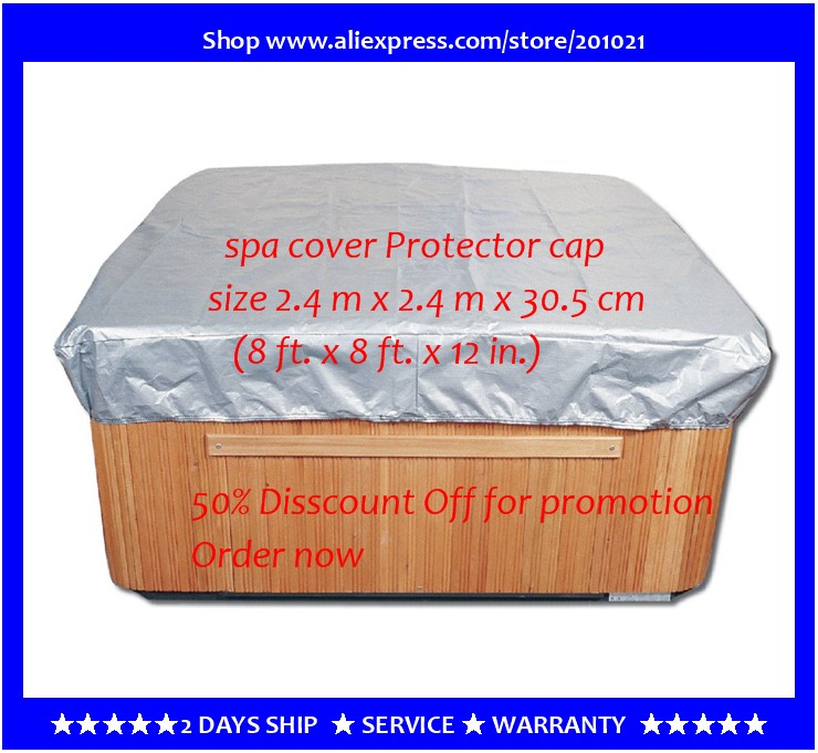 Customize hot tub cover bag and spa cap , size 244 x 244 x 30.5cm ( 8 Ft x 5 ft x 12 Inch )any shape and size is avaliable atv recovery strap 1 inch x 15 ft single ply