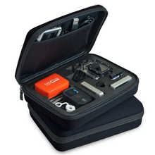 Sml размер Камера Сумка для Gopro SJCAM SJ4000 Xiaoyi EVA водонепроницаемый Защитный Спортивная сумка для Фотокамеры