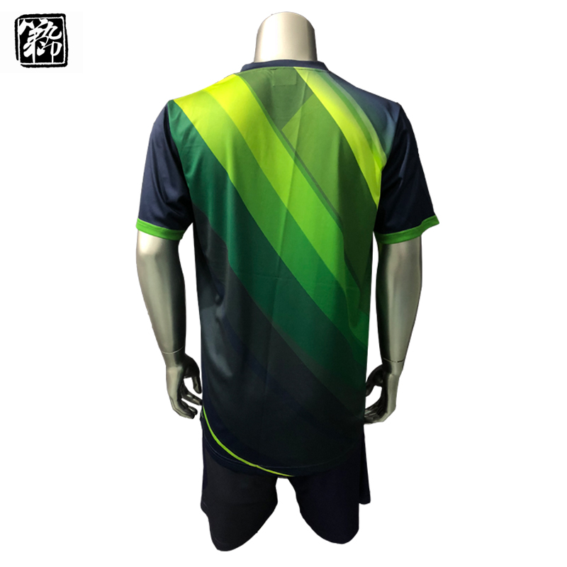 6fabb9dd9 Custom best quality soccer jerseys polyester quick dry soccer uniforms sets  sublimation men and kids football shirts