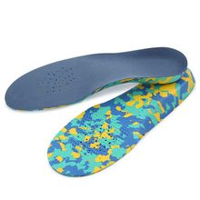 1 Pair Shoe Pad EVA Shock Proof Sweat Absorb Breathable Soft Elastic Orthopedic Arch Support Insole Cushion Sports Universal Cut 1 pair shoe pad heel pads cushion silicone soft arch support 3d shock absorb breathable insole comfortable orthopedic feet care