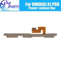 UMIDIGI A1 PRO Side Botão Flex Cable 100% Original Poder + Volume botão Flex Cabo de peças de reparo para UMIDIGI A1 PRO