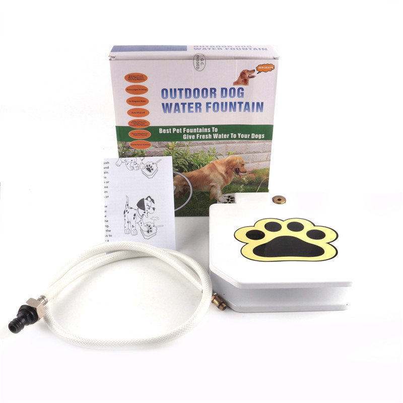 New Arrival Outdoor Pet Dog Cat Drinking Water Fountain Dog Waterer ...