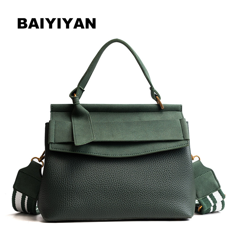 Fashion Luxury Pu Leather bag Casual Women Brand Shoulder Bag Designers for Women 2018 Ladies Hand Bags