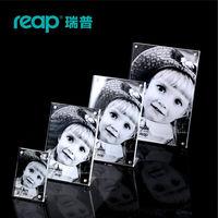 Reap Mag Acrylic L Shape Magnet Desk Sign Holder Card Display Stand Table Menu Photo Frame