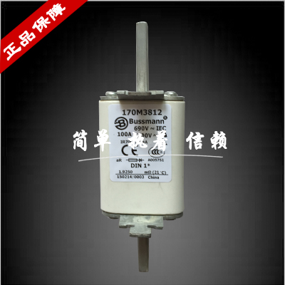 Fast Fuse 170M3812 / DIN1 / NH1 / 690V / 100A пульсометр mio fuse s m cobalt