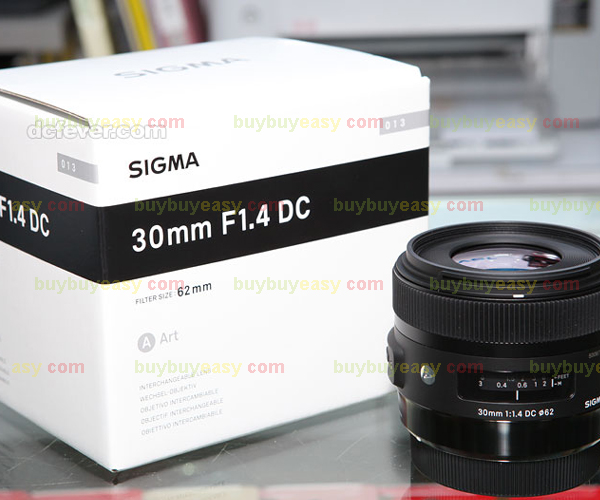 Sigma 30mm F1.4 DC HSM ART Lens For Canon sigma 50 100mm f 1 8 dc hsm art canon ef