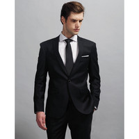 Custom Made Royal Blue Mens Suits Groom Tuxedos For Wedding Tuxedos Charming 2017 The Best Man